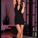 Evening gown - ClubWear: cleavage split