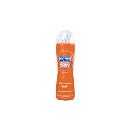 Durex play warming hot - Lubricant heating effect