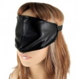Wolf - Mask single BDSM leather