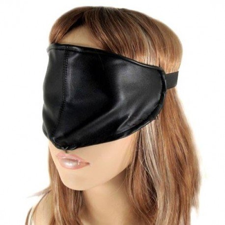 Simple Leather BDSM Blindfold