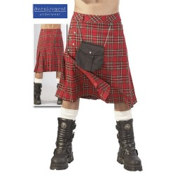 Scottish Kilt for man with besace