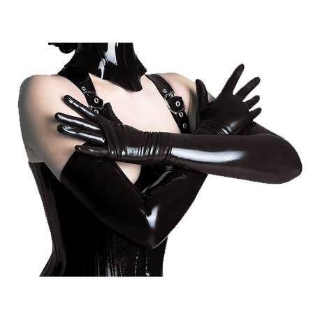 Long gloves latex
