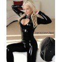 Body vinyl Catsuit complete with lanyard