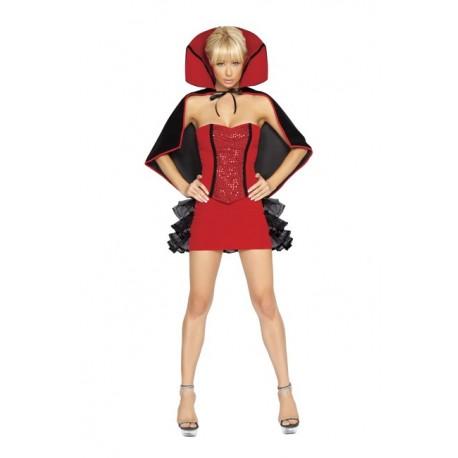 Costume sorcière sexy diablesse