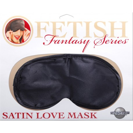 Black Satin Love Mask!