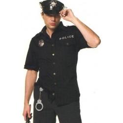 Uniform of police man costume
