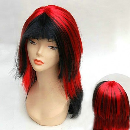 Wig: Sexy Diablesse! Red and black