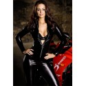 CatSuit latex zipped to combination