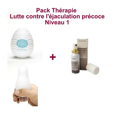 Therapy Pack - Fight against premature ejaculation - Level 1