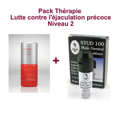 Therapy Pack - Fight against premature ejaculation - Level 2