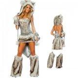 Wolf Wolf costume Sexy woman