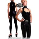 Combination Tight Catsuit - Neck & Decollete