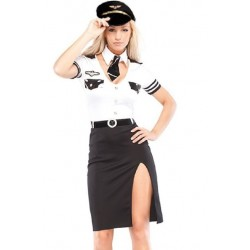 Flight Commander costume sexy woman