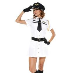 Sexy Costume - Airport flight attendant