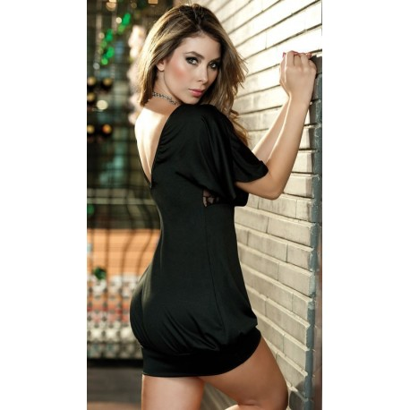 Robe Clubwear - Sexy poitrine dentelle