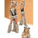 Leopard costume disguise - Female
