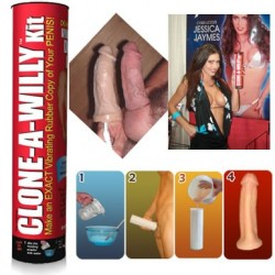 Clone A Willy kit - Make a Mould of your Penis - vibrator, chocolate, soap, candle, glow in the dark