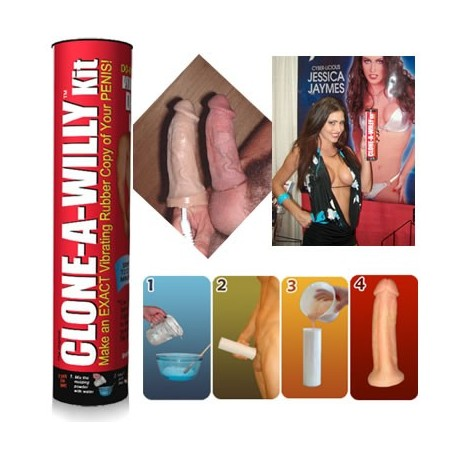Clone A Willy kit - Clone his penis and make a vibrating dildo!