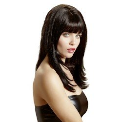 Sexy wig: Long hair with fringe
