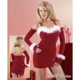 Clingy dress - sexy mother christmas