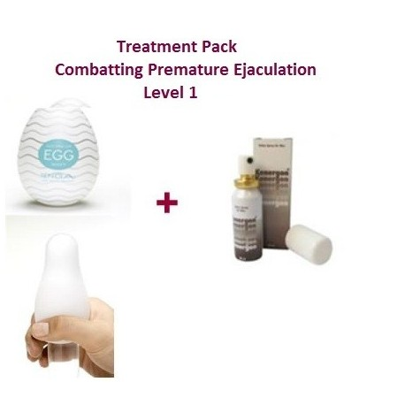 Level 1 Treatment Pack - Combats Premature Ejaculation
