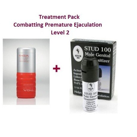 Level 2 Treatment Pack - combats difficult-to-control premature ejaculation