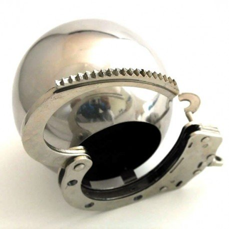 The Pit - Metal Ball of Chastity!