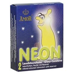 Phosphorescent condoms - Amor Glowing Dark