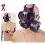 Latex gas mask: Canadian / Danish