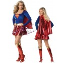 SuperGirl - Sexy female superhero costume