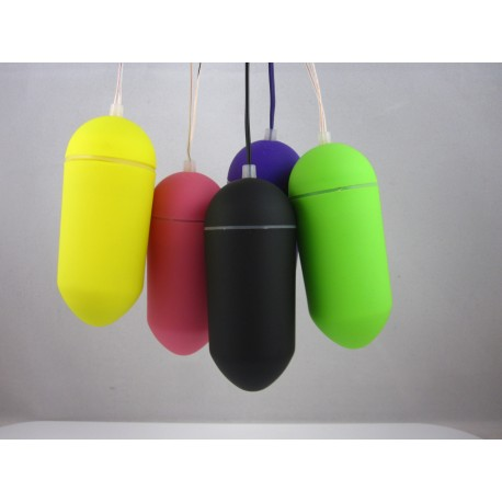 Radiocontrolled vibrating egg - simply colors