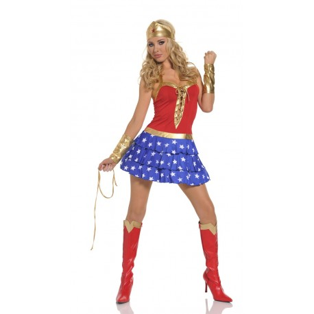 Disguise - WonderWoman sexy dress