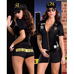 Sexy policewoman disguise