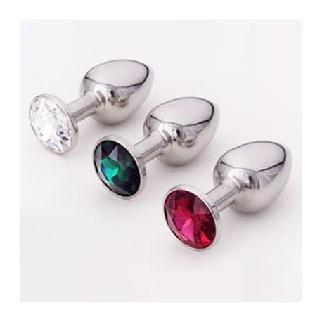 Intimate jewellery - Anal Plug - Rosebud: 8 colours available