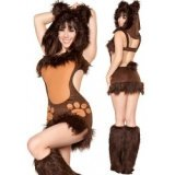 Little sexy teddy bear costume disguise