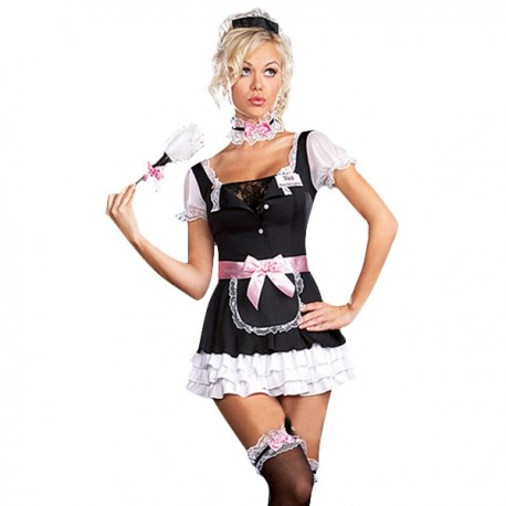 Maid costume classical bent but sexy!