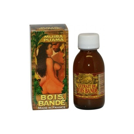 Bois Bande Muira Puama - Unisex aphrodisiac to spark erection and desire