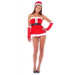 Sexy Christmas nightdress - with accessories