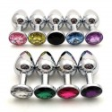 Rosebud - Intimate jewellery - Anal Plug: 8 colours/3 sizes available