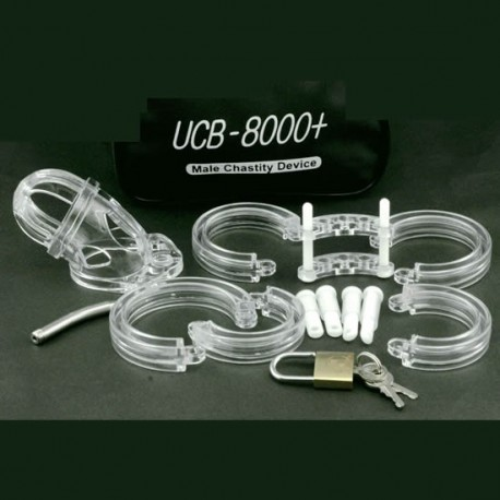 Asylum UCB-8000 polycarbonate & probe of urethra