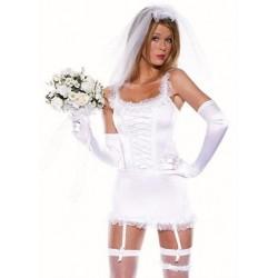 Sexy bride babydoll