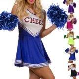 High School Cheer Leader - dress cheerleader
