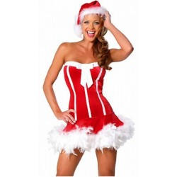 Sexy bustier dress - Mrs Santa Claus