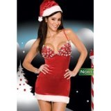 Xmas Diamond Christmas nightdress