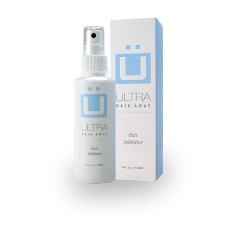 Ultra Hair Away - Hair inhibitor spray to slow regrowth