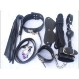 Full SM bondage kit - 7 BDSM accessories