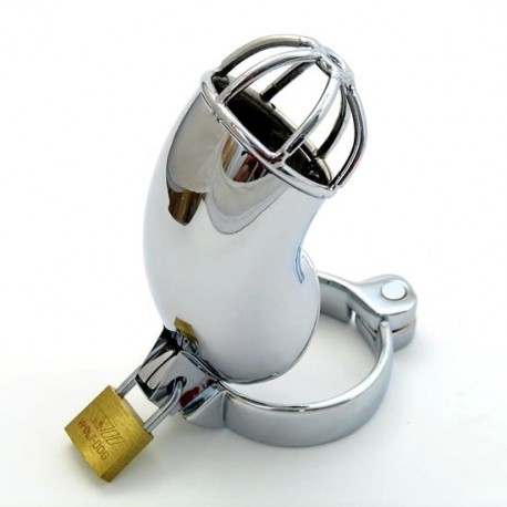 Stainless Steel Lancelot Chastity Cage