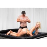 Nuru - Vinyl latex sheets with inflatable edges for massage games - wet games