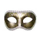 S&M mask - Grey Masquerade - Eyes Wide Shut