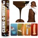 Clone A Willy kit - Make a mould of his penis -vibrator, chocolate, soap, candle, glow in the dark